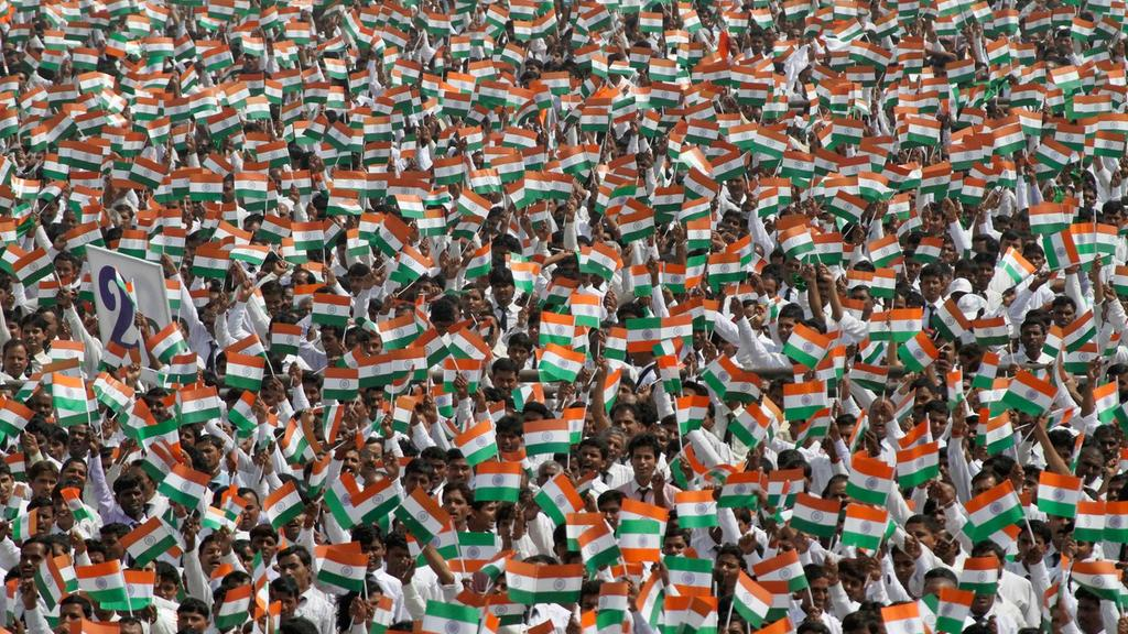 India crowd reuters