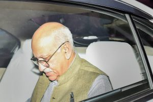New Delhi: Minister of State for External Affairs MJ Akbar leaves MEA at South Block, in New Delhi, Monday, Oct 15, 2018. Akbar has filed a private criminal defamation complaint against journalist Priya Ramani who recently levelled charges of sexual misconduct against him as the #MeToo campaign raged in India. (PTI Photo/Kamal Singh) (PTI10_15_2018_000158B)
