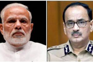 प्रधानमंत्री नरेंद्र मोदी और आलोक वर्मा. (फोटो: पीटीआई/फेसबुक)