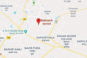 Bahraich Map
