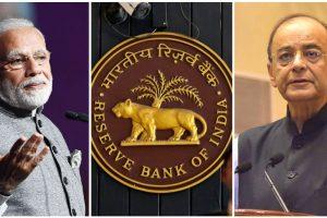 प्रधानमंत्री नरेंद्र मोदी और वित्त मंत्री अरुण जेटली (फोटो: पीआईबी/रॉयटर्स)
