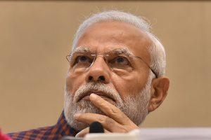 New Delhi: Prime Minister Narendra Modi at the silver jubilee celebration of National Human Right Commission, in New Delhi, Friday, Oct 12, 2018. (PTI Photo/Atul Yadav) (PTI10_12_2018_100098B)