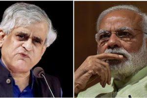 पी. साईनाथ और नरेंद्र मोदी. (फोटो: पीटीआई/फेसबुक)