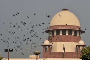 New Delhi: A view of the Supreme Court of India in New Delhi, Monday, Nov 12, 2018. (PTI Photo/ Manvender Vashist) (PTI11_12_2018_000066B)