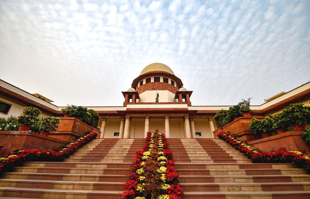 New Delhi: A view of Supreme Court of India in New Delhi, Thursday, Nov. 1, 2018. (PTI Photo/Ravi Choudhary) (PTI11_1_2018_000197B)