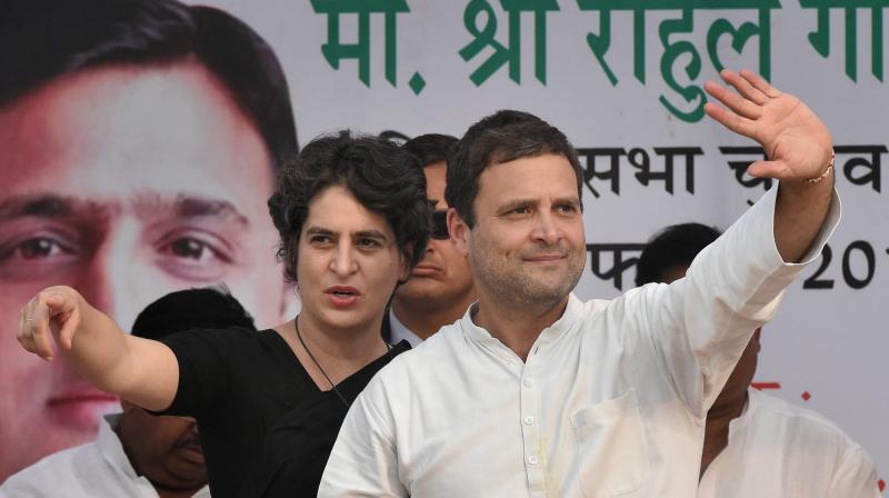 Priyanka And Rahul Gandhi PTI Files