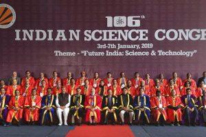 जालंधर में आयोजित साइंस कांग्रेस में प्रधानमंत्री नरेंद्र मोदी (फोटो: पीटीआई)