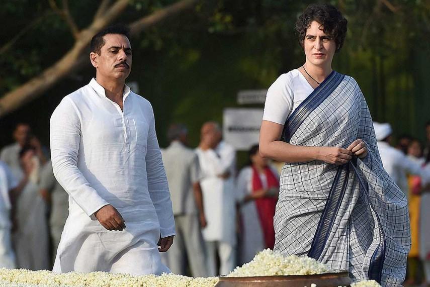 priyanka-Gandhi_Robert Vadra PTI