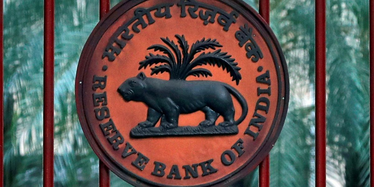 A Reserve Bank of India (RBI) logo is seen at the gate of its office in New Delhi, November 9, 2018. Credit: REUTERS/Altaf Hussain