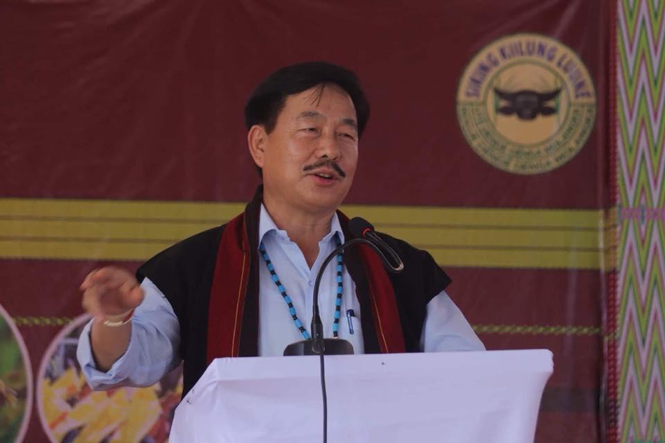 अरुणाचल प्रदेश भाजपा अध्यक्ष तापिर गाओ. (फोटो साभार: फेसबुक)