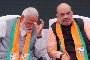 प्रधानमंत्री नरेंद्र मोदी के साथ अमित शाह. (फोटो: रॉयटर्स)