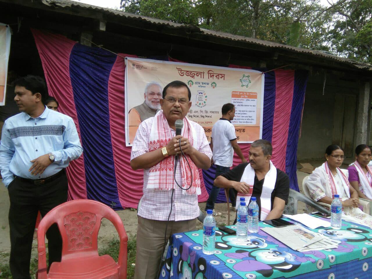 असम के डिब्रूगढ़ से भाजपा विधायक प्रशांत फुकन. (फोटो साभार: फेसबुक)