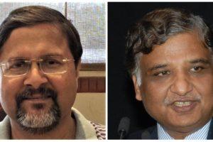 अरविंद कुमार (बाएं) और सामंत कुमार गोयल. (फोटो साभार: फेसबुक/आईपीएस एसोसिएशन)