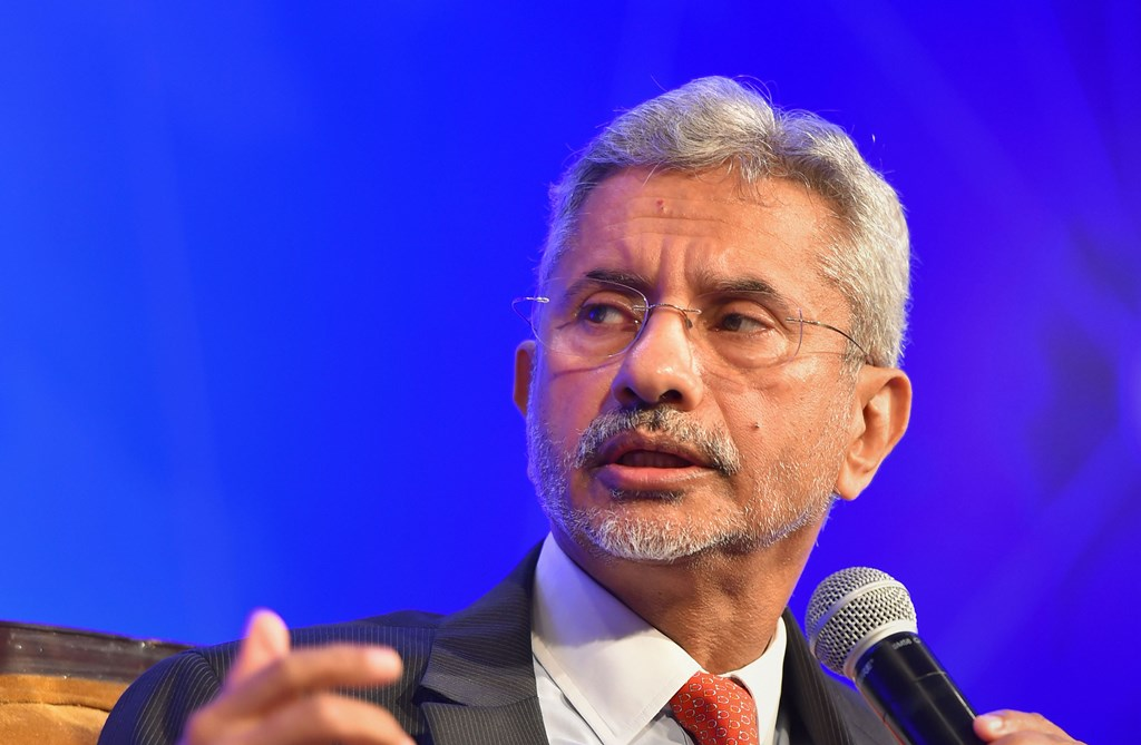 New Delhi: External Affairs Minister S Jaishankar addresses during The Growth Net Summit 7.0, in New Delhi, Thursday, June 06, 2019. (PTI Photo/Kamal Kishore)(PTI6_6_2019_000031B) *** Local Caption ***
