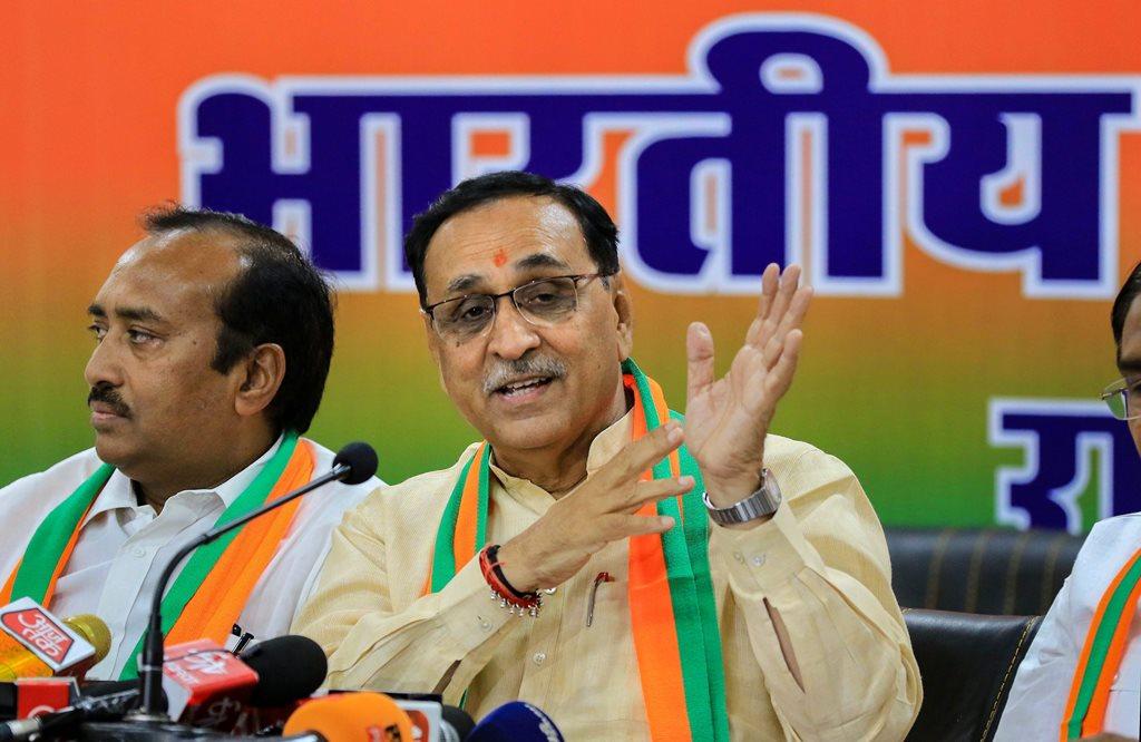 गुजरात के मुख्यमंत्री विजय रूपाणी. (फोटो: पीटीआई)