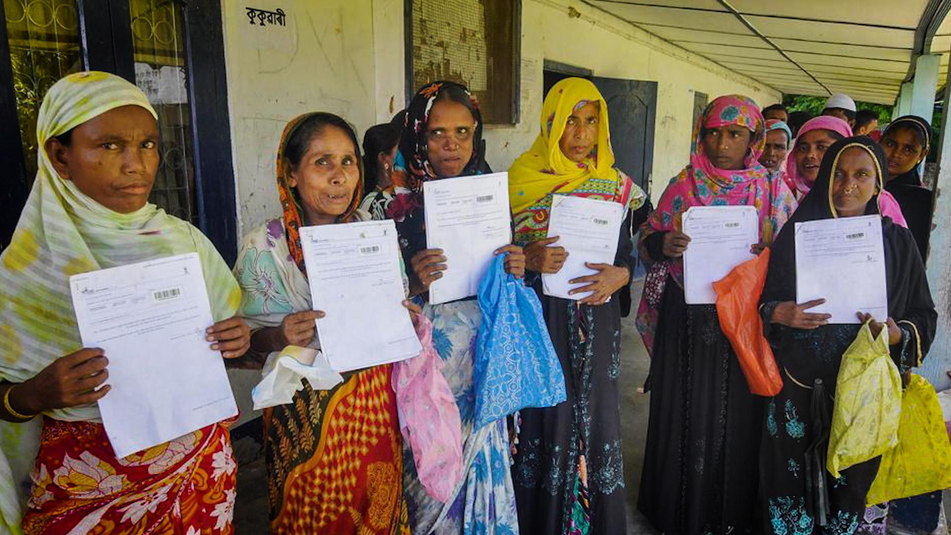 NRC Assam PTI