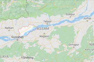 Darang Assam Map