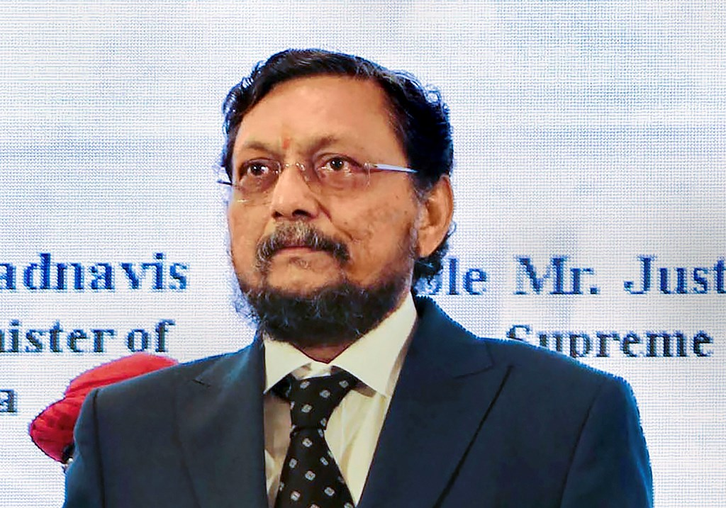 **EDS: FILE PHOTO** New Delhi: In this Saturday, Aug 17, 2019 file photo Justice Sharad Bobde attends the 17th All India Meet of State Legal Services Authorities, in Nagpur, Maharashtra. Justice Bobde will succeed Justice Ranjan Gogoi as the next Chief Justice of India.(PTI Photo) (PTI10_29_2019_000034B)