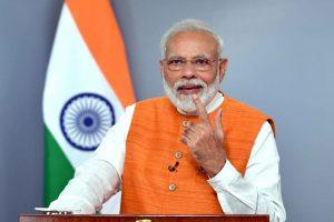 The Prime Minister, Shri Narendra Modi addressing the Malayala Manorama News Conclave 2019 in Kochi via video conferencing, in New Delhi on August 30, 2019.