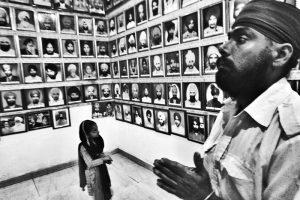दिल्ली के तिलक विहार में 1984 के दंगों में मारे गए लोगों की याद में बना म्यूजियम. (फोटो: शोम बसु)