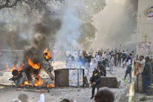 फरवरी 2020 में उत्तर-पूर्वी दिल्ली में हुई हिंसा. (फाइल फोटो: पीटीआई)
