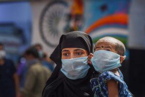 Chennai: Passengers wearing masks in the wake of coronavirus pandemic at MGR Central Railway Station, in Chennai, Thursday, March 19, 2020. (PTI Photo)(PTI19-03-2020_000217B)