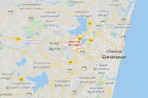 Ambattur Chennai Map