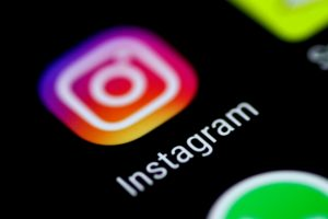 The Instagram application is seen on a phone screen August 3, 2017.   REUTERS/Thomas White