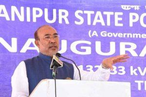 मुख्यमंत्री एन. बीरेन सिंह. (फोटो साभार: फेसबुक)