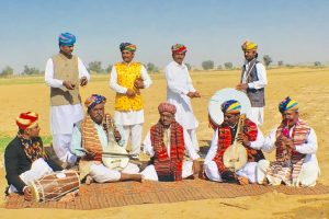 Rajasthan Artist Dare Khan and his group Special Arrangment