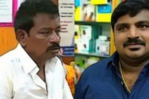 जयराज (बाएं) और बेनिक्स. (फोटो साभार: ट्विटर)