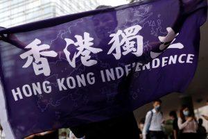 चीन के विवादित राष्ट्रीय सुरक्षा कानून को लेकर हांगकांग में लगातार विरोध प्रदर्शन होता रहा है. (फोटो: रॉयटर्स)