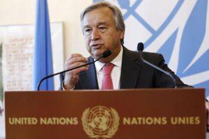 संयुक्त राष्ट्र महासचिव एंतोनियो गुतारेस. (फोटो: रॉयटर्स)