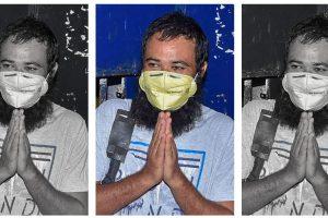 मथुरा जेल से रिहा होने के बाद डॉ. कफ़ील ख़ान. (फोटो: पीटीआई)