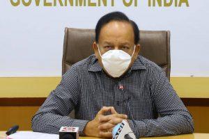 केंद्रीय स्वास्थ्य मंत्री डॉ. हर्षवर्धन. (फोटो साभार: फेसबुक/@drharshvardhanofficial)