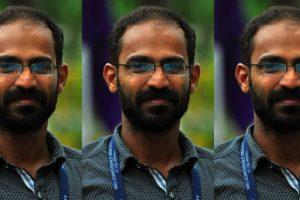 केरल के पत्रकार सिद्दीकी कप्पन. (फोटो साभार: ट्विटर/@vssanakan)