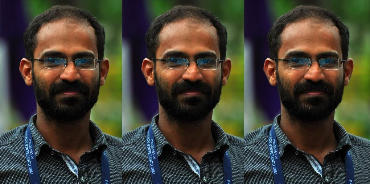 केरल के पत्रकार सिद्दीक कप्पन. (फोटो साभार: ट्विटर/@vssanakan)