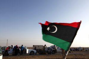 लीबिया का झंडा (प्रतीकात्मक फोटो: रॉयटर्स)