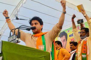 एक चुनावी रैली के दौरान ज्योतिरादित्य सिंधिया. (फोटो साभार: फेसबुक/@JMScindia)