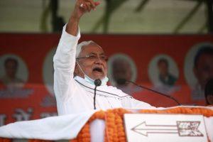 मुख्यमंत्री नीतीश कुमार की एक जनसभा. (फोटो साभार: फेसबुक/जदयू)