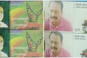 छोटा राजन और मुन्ना बजरंगी पर जारी डाक टिकट. (फोटो साभार: एएनआई)