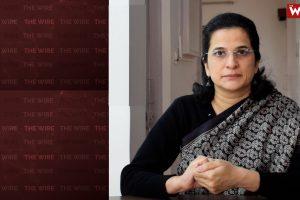 सामाजिक कार्यकर्ता अंजलि भारद्वाज. (फोटो: द वायर)