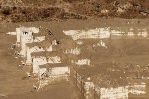 Chamoli: Damaged Dhauliganga hydropower project at Reni village, after a glacier broke off in Joshimath causing a massive flood in the Dhauli Ganga river, in Chamoli district of Uttarakhand, Sunday, Feb. 7, 2021. (PTI Photo)(PTI02 07 2021 000145B)(PTI02 07 2021 000183B)
