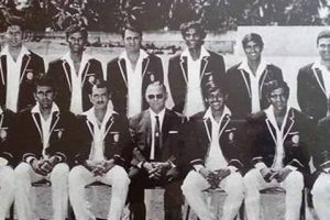 1971 में वेस्टइंडीज में टेस्ट मैच जीतने वाली भारतीय टीम. (साभार: बीसीसीआई)