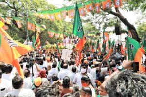 पश्चिम बंगाल में गृह मंत्री अमित शाह की एक रैली. (फोटो साभार: फेसबुक/@amitshahofficial)