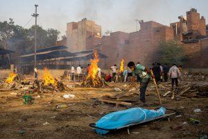 Coronavirus Crematorium Delhi Reuters