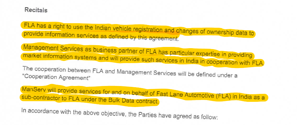 Fast Lane ManServ Contract