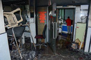 प्राइम हॉस्पिटल में लगी आग. (फोटो: पीटीआई)