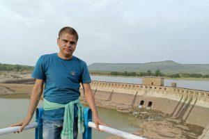 पत्रकार आशीष सागर. (फोटो: धीरज मिश्रा)